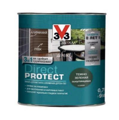 Эмаль V33 DIRECT PROTECT 0,75 л