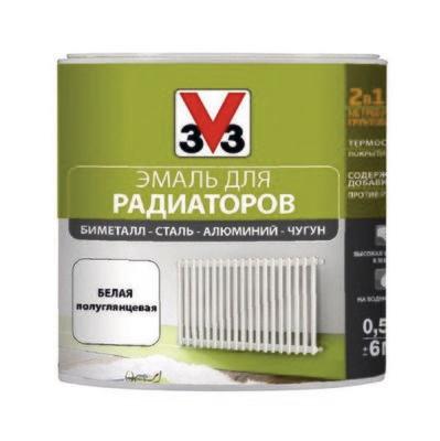 Эмаль для радиаторов V33 RENOVATION (Decolab)