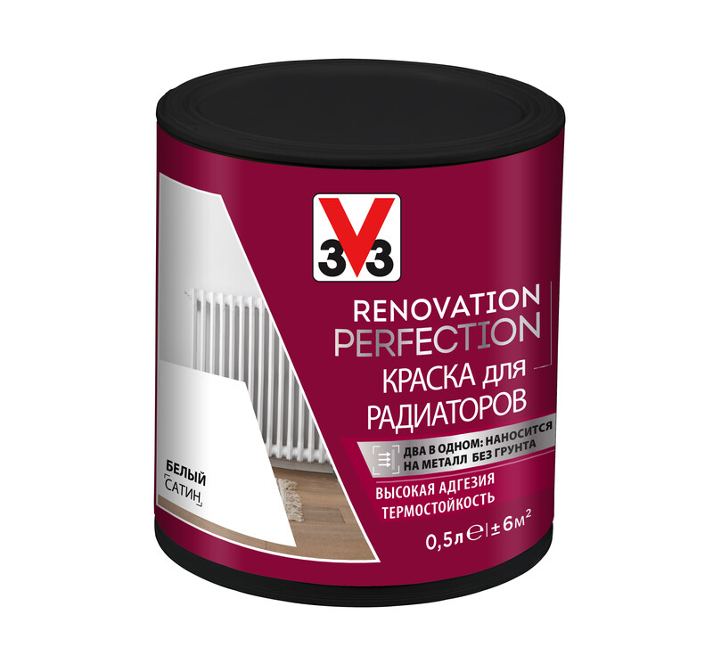 Краска для радиаторов Renovation Perfection V33