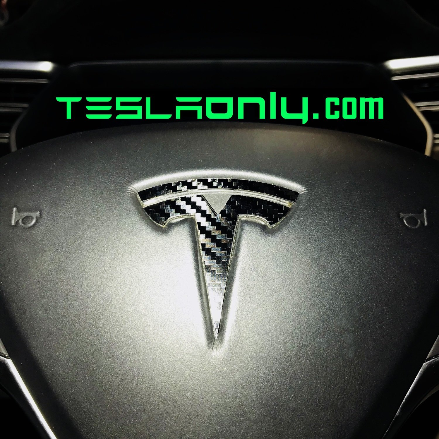 "Tesla Model S | 3 | X - ""T"" Logo DECAL"