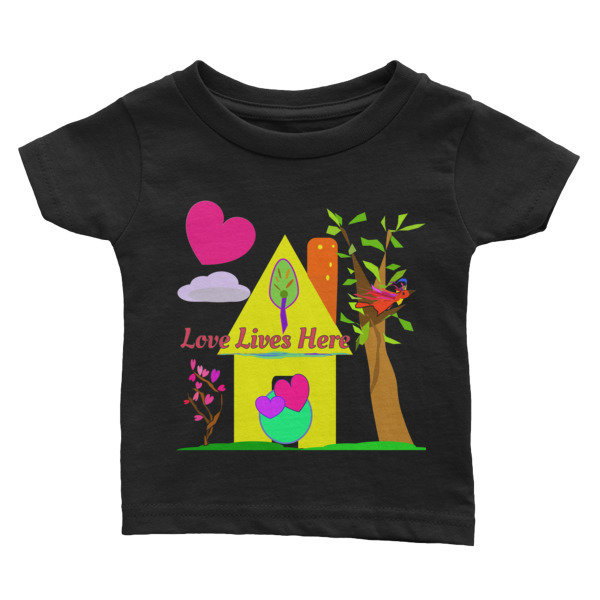 Love Lives Here Infant Tee