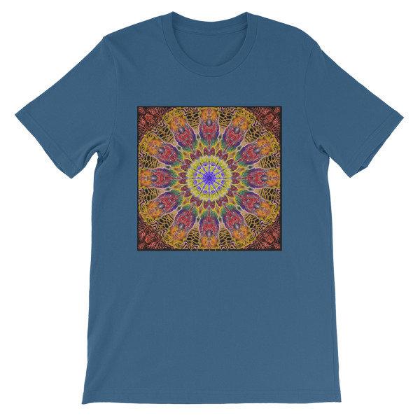 Golden Colors Mandala Short-Sleeve Unisex T-Shirt