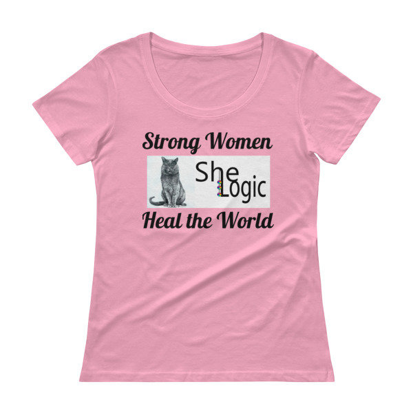 Strong Women Ladies' Scoopneck T-Shirt