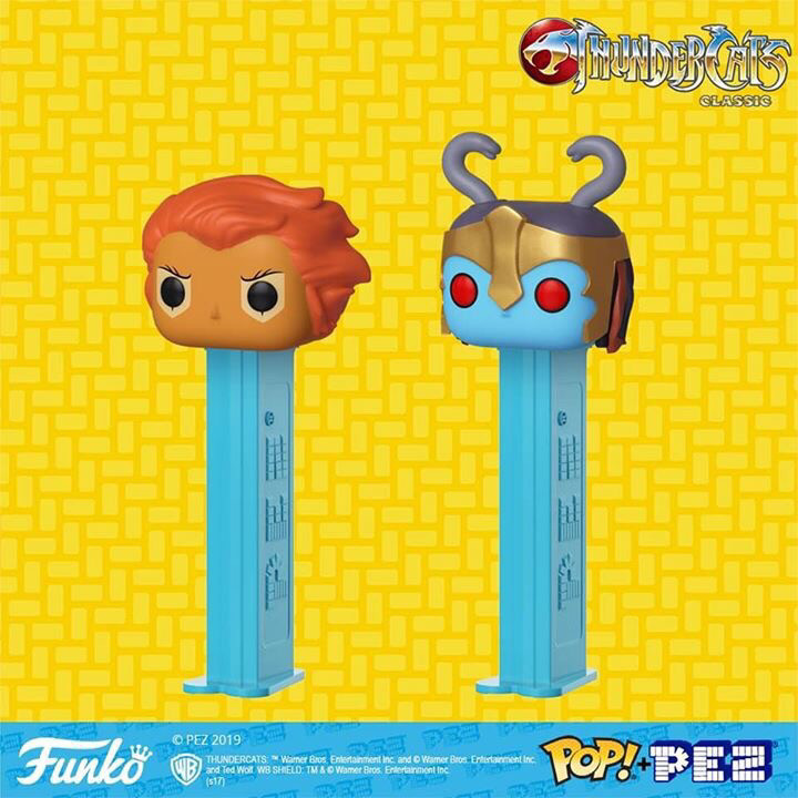 Funko POP! PEZ - THUNDERCATS Lion-O & Mumm-Ra Set