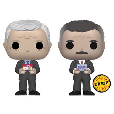 Jeopardy! Alex Trebek Pop! Vinyl Figure Common/Chase