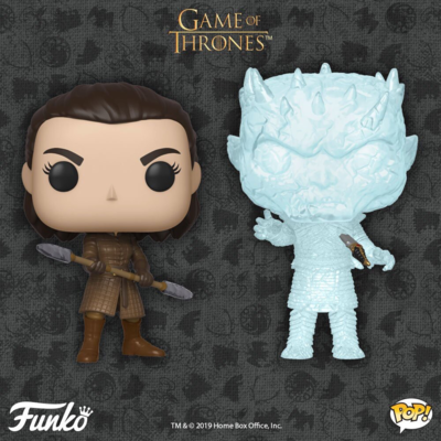 COMING SOON: POP! TV - GAME OF THRONES Arya & The Night King