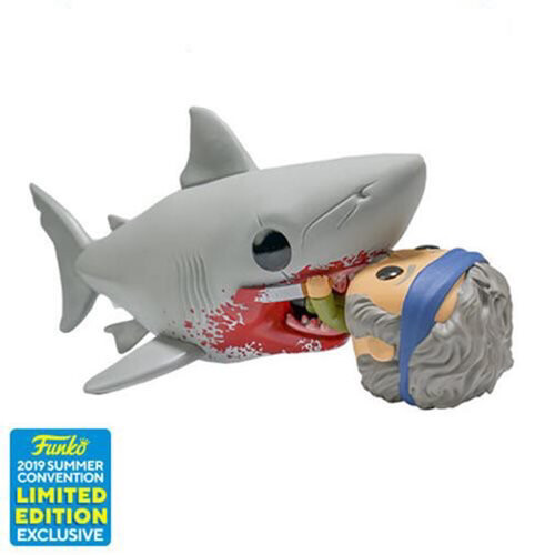 Jaws Eating Quint 6-Inch Pop! Vinyl Figure - 2019 Convention Exclusive