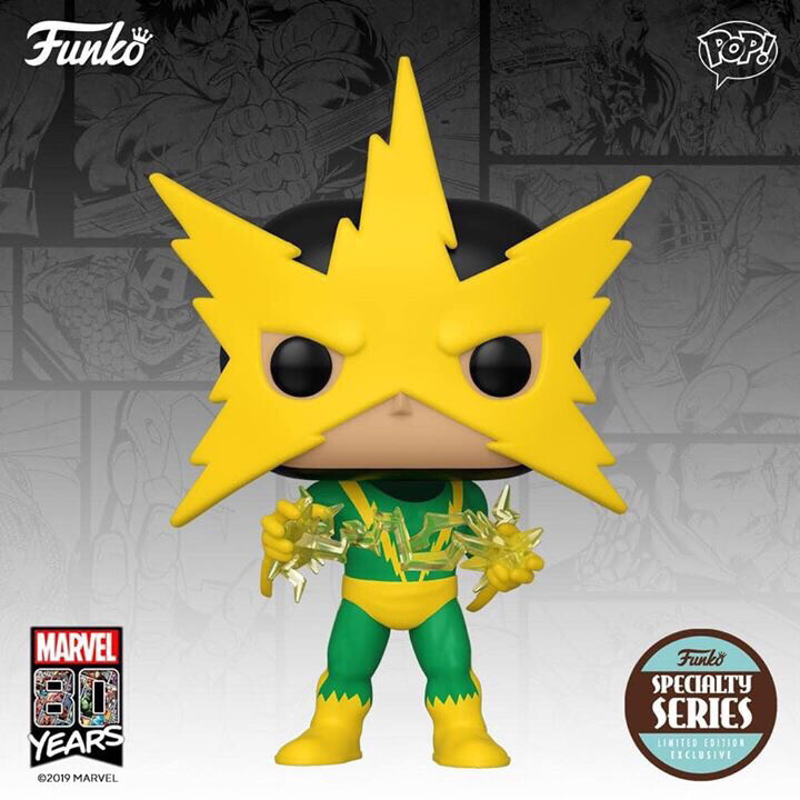 PRE ORDER POP! MARVEL 80TH Anniversary Specialty Series Electro
