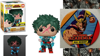 My Hero Academia Deku Full Cowl Glow-in-the-Dark Pop! Vinyl Figure - Entertainment Earth Exclusive -Pre Order-