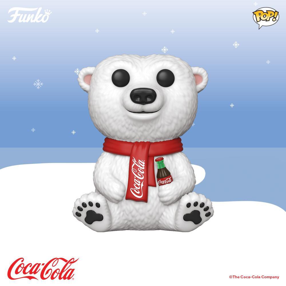 Coca-Cola Polar Bear Pop! Vinyl Figure Pre Order