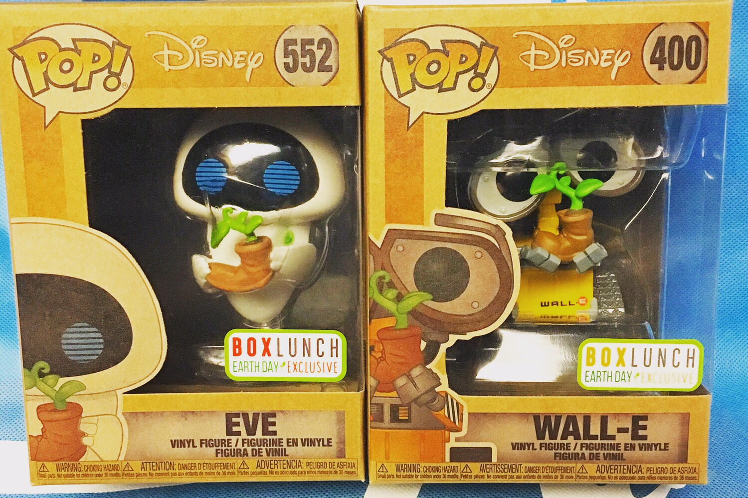 Earth Day Wall-E And Eve Set