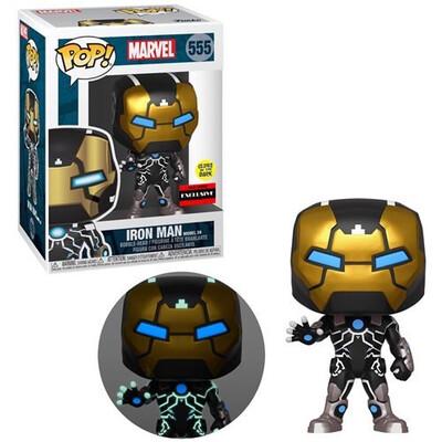 Iron Man Model 39 Glow-in-the-Dark Pop! Vinyl Figure - Exclusive Pre Order