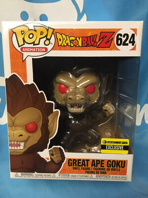 Dragon Ball Great Ape Goku 6-Inch Pop! Vinyl Figure - Entertainment Earth Exclusive