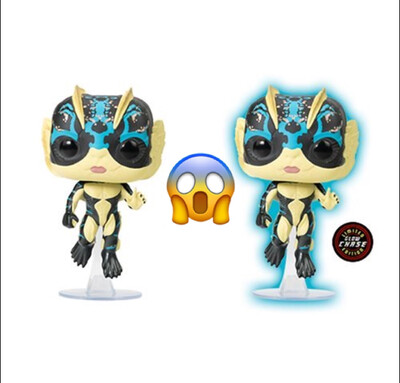 The Shape of Water Amphibian Man Pop! Vinyl Figure Chase/Common Set