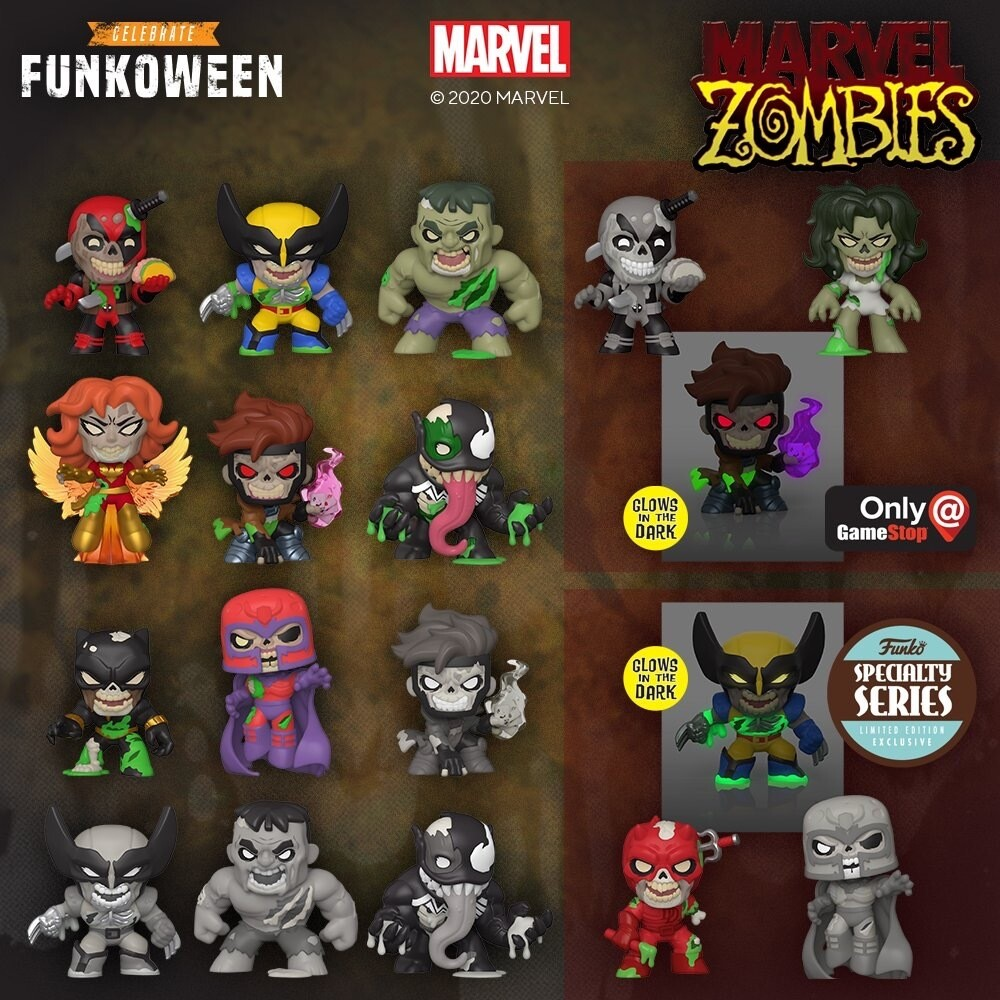 Funko Specialty Series Marvel Zombies Mystery Minis
