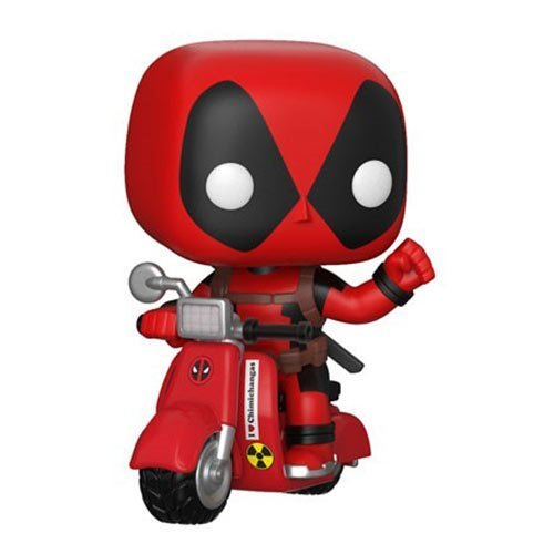 Deadpool on Scooter Pop! Vinyl Vehicle