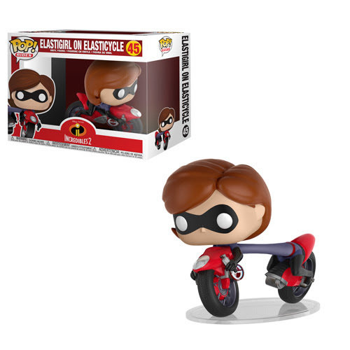 Pop! Rides: Incredibles 2 – Elastigirl on ElastiCycle IN STOCK