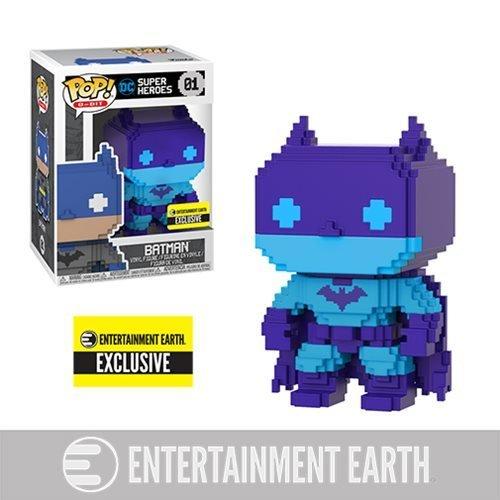 !!IN STOCK NOW!! Batman Video Game Deco 8-Bit Pop! Vinyl Figure - Entertainment Earth Exclusive