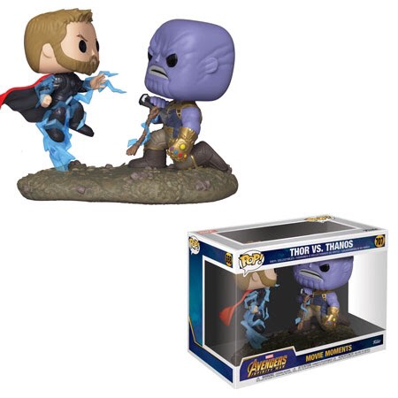 Marvel: Movie Moments – Thor Vs. Thanos Pre Order