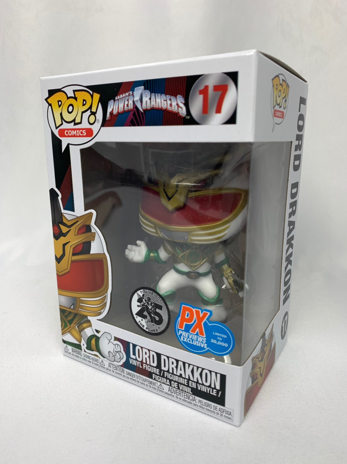 Power Rangers Lord Drakkon Pop! Vinyl Figure