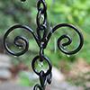 Rain Chain - Fleur-de-lis 5151