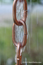 Rain chain - Large Link pure copper traditional  #3131