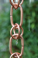 Rain chain - Link and Loop™ copper  #3133