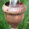 Rain Chains - Acorn Cups 2688