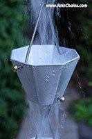 Rain Chain - Gina K Octagonal Cup #4420