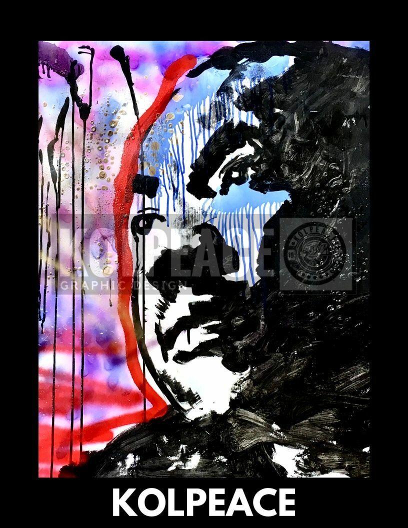 Long Live The King | KOLPEACE PRINT 00035