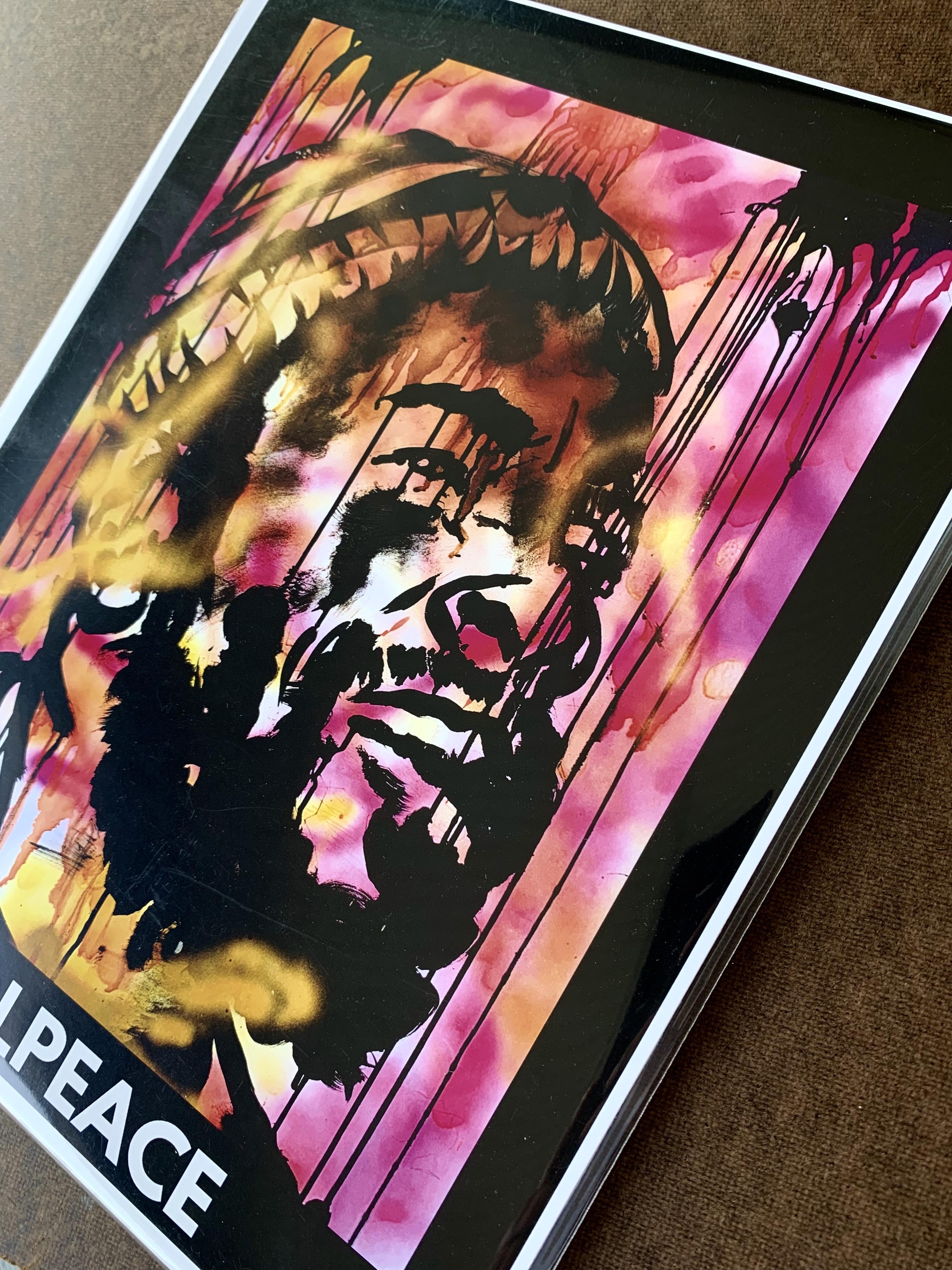 Marvin Gaye tribute | KOLPEACE PRINT