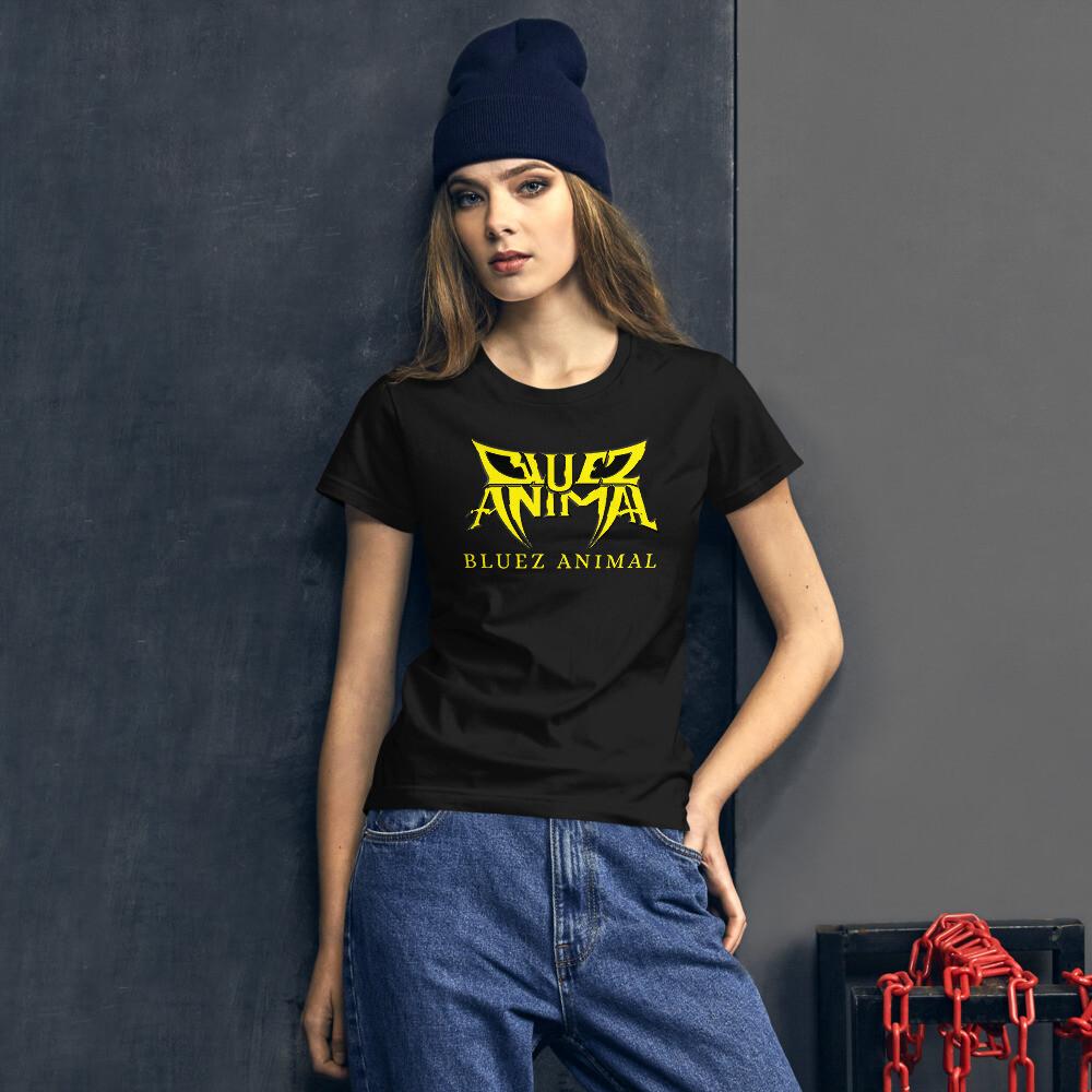 New yellow Women's short sleeve t-shirt