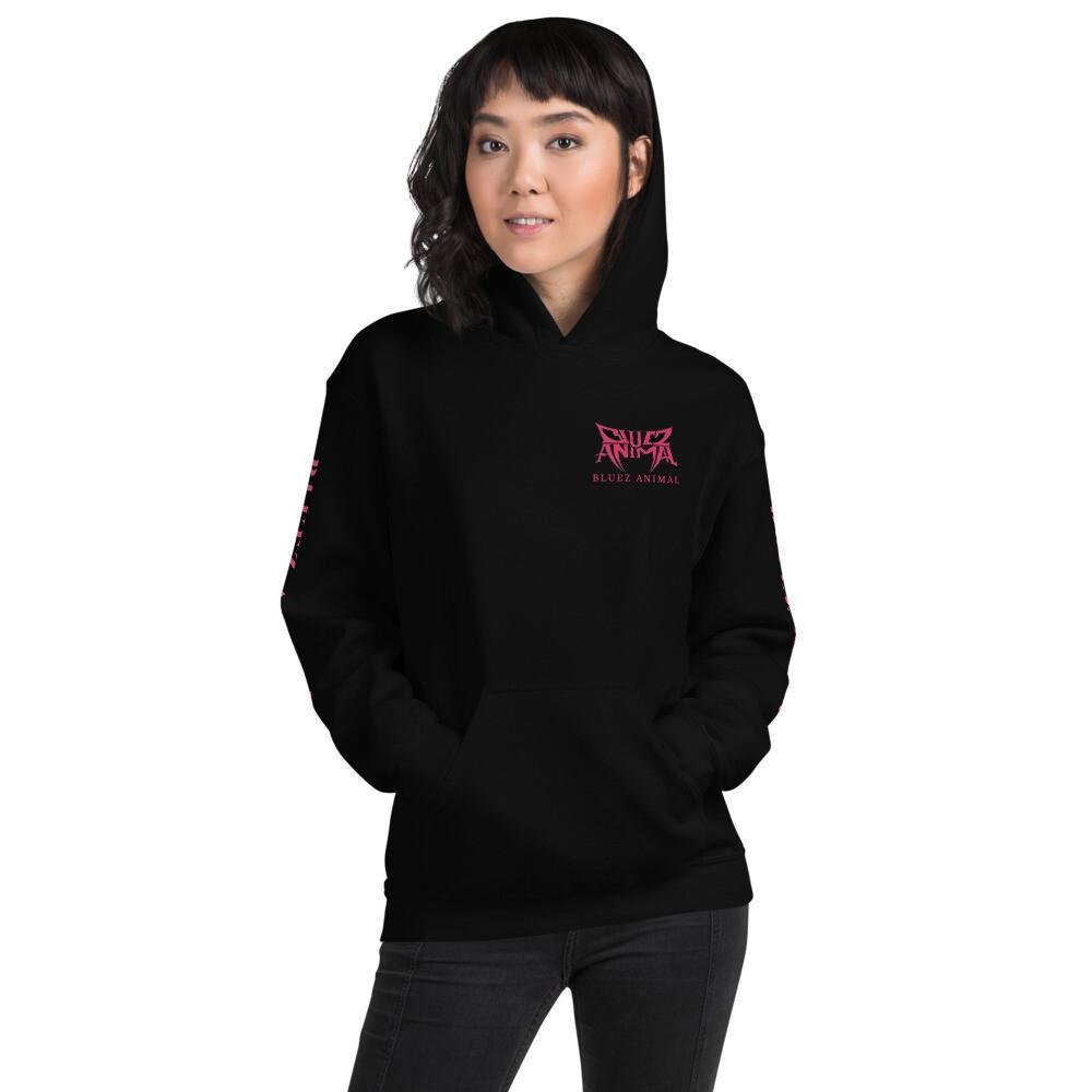 Pink Logo Unisex Hoodie