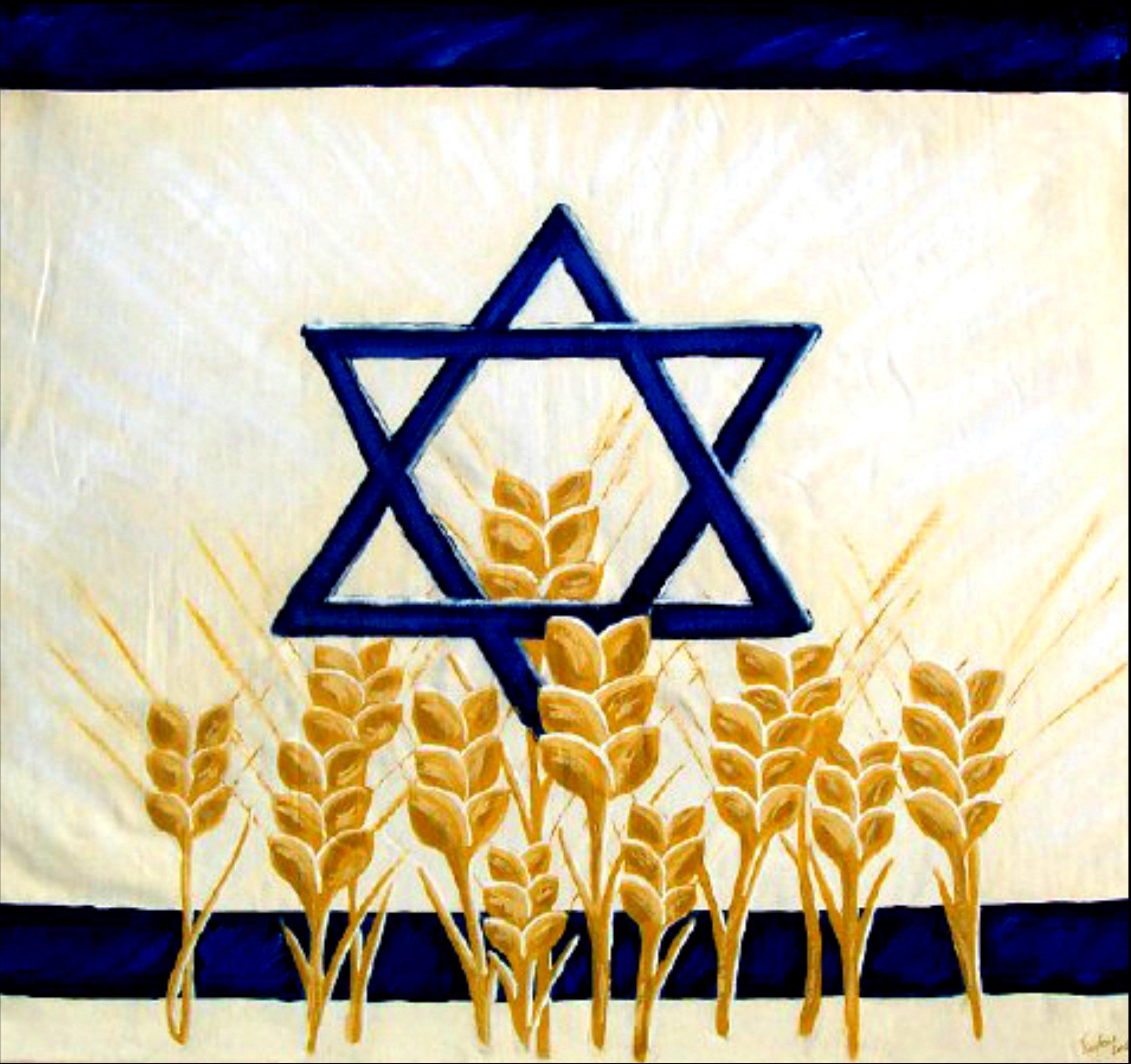 Harvest Israel - Abstract Art Print 00025