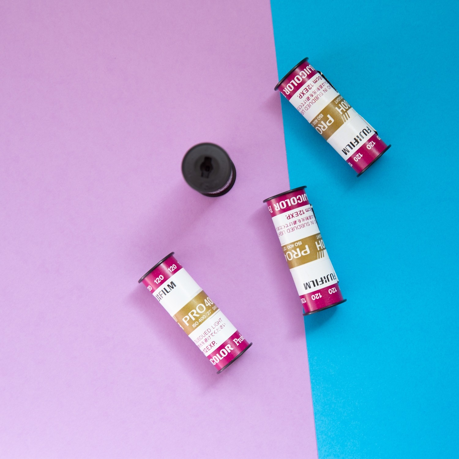Fuji 400H 120 - From $7.40 a Roll (while supplies last)!