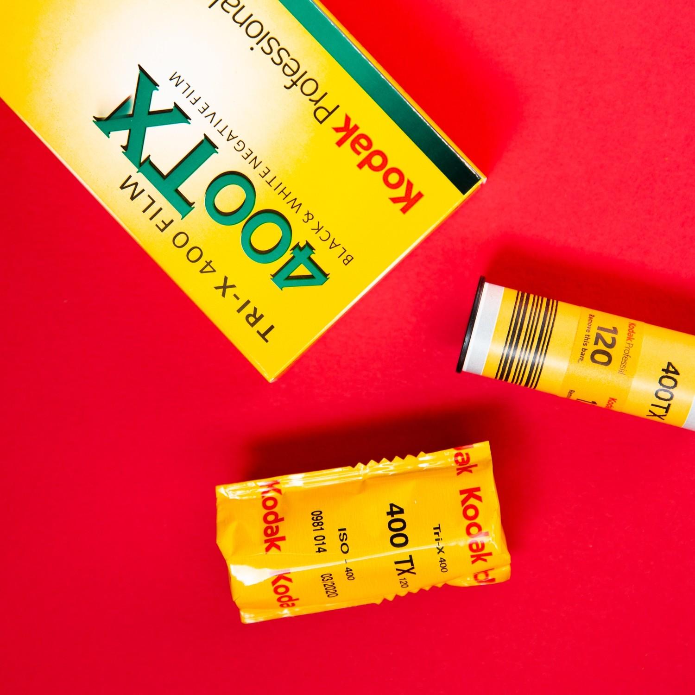 Kodak Tri-X 400 120- From $6.60 a Roll!