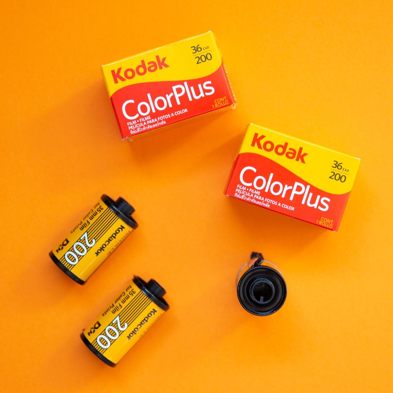 Kodak Color Plus 200 35mm 36 exp