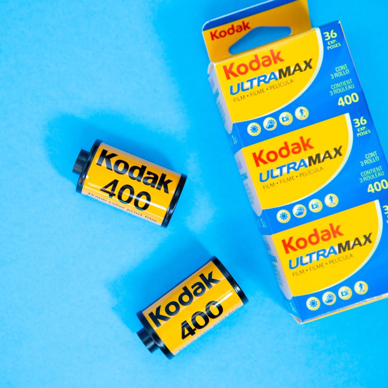 Kodak UltraMax 400 35mm 36exp (Single Roll)
