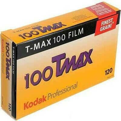 Kodak TMAX 100 120- From $6.60 a Roll!