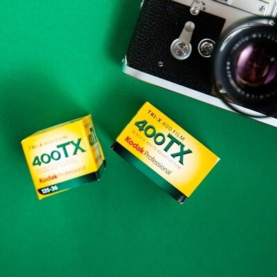 Kodak TRI-X 400 35mm 36 Exposures - From $6.50 a Roll!