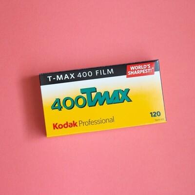 Kodak TMAX 400 120- From $6.60 a Roll!