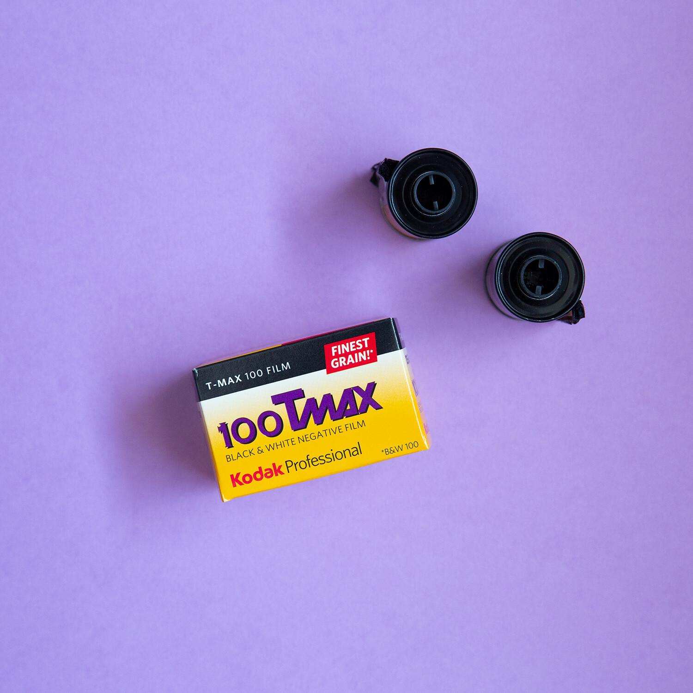 Kodak TMAX 100 35mm 36 Exposures - From $6.50 a Roll!