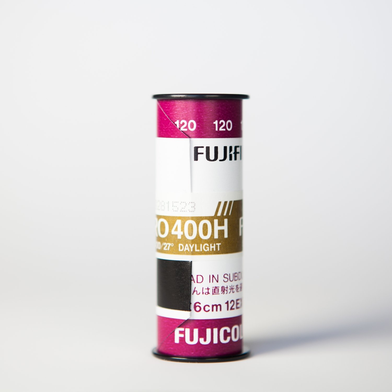 Fuji 400H 120 - SINGLE ROLL ($6.85/roll)