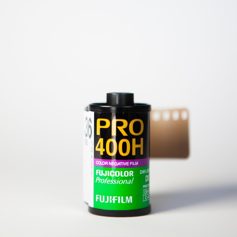 Fuji 400H 35mm 36 Exposures - SINGLE ROLL ($8.25/roll)