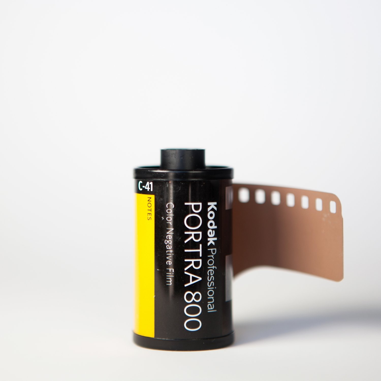 Kodak Portra 800 35mm 36 Exposures - SINGLE ROLL ($9.55/roll)