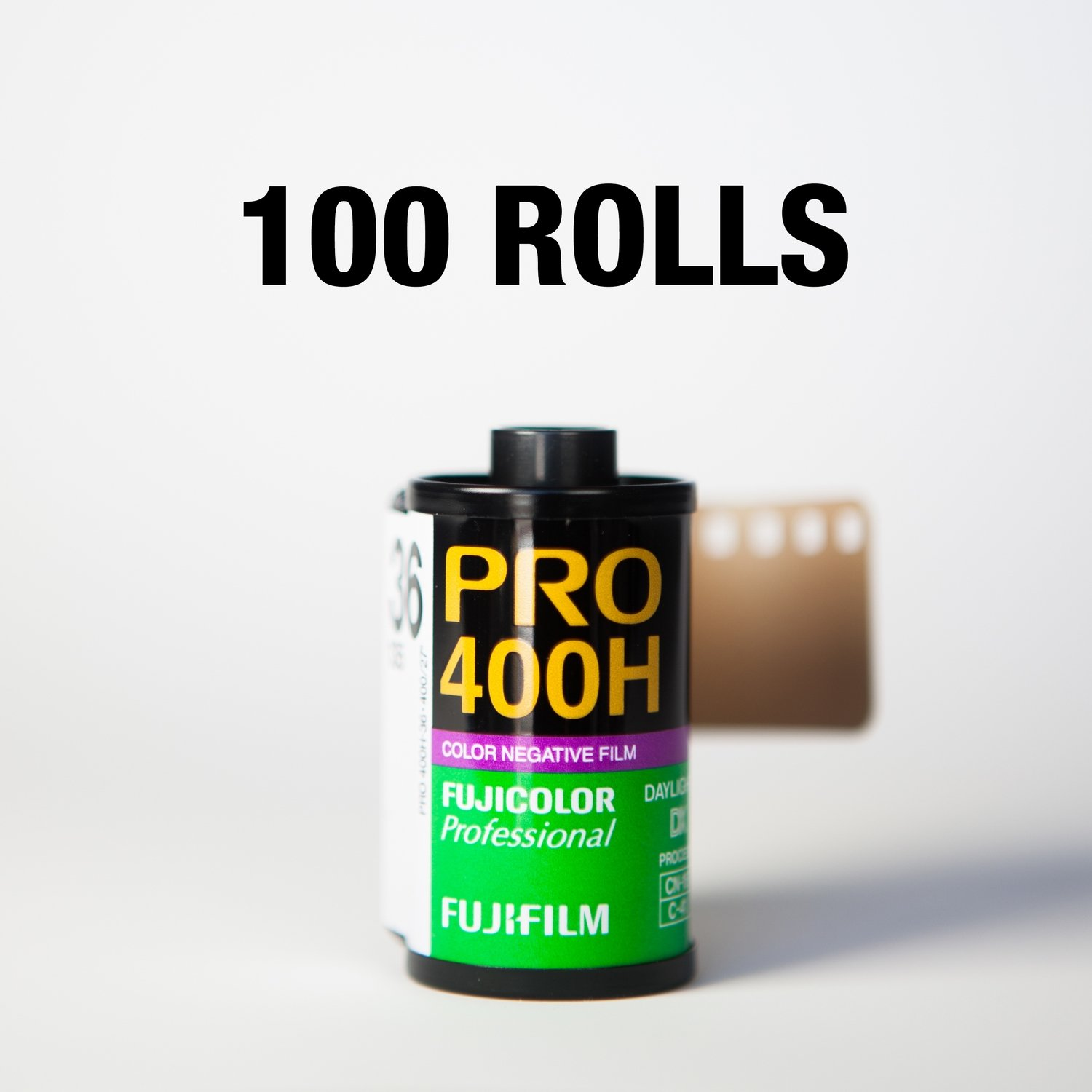 Fuji 400H 35mm 36 Exposures - 100 Rolls ($8.15/roll)