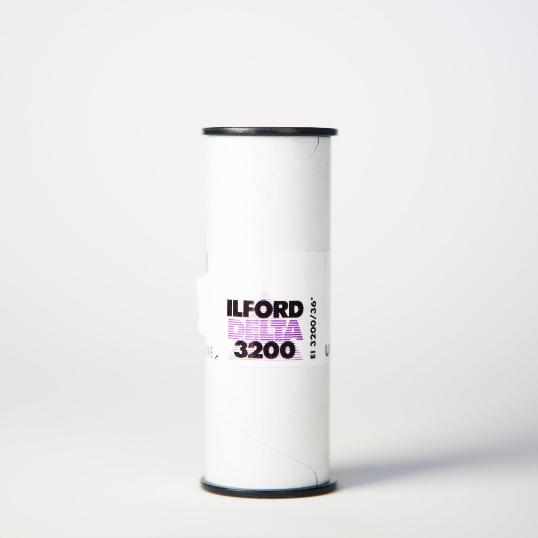 Ilford Delta 3200 120 - SINGLE ROLL ($6.80/roll)