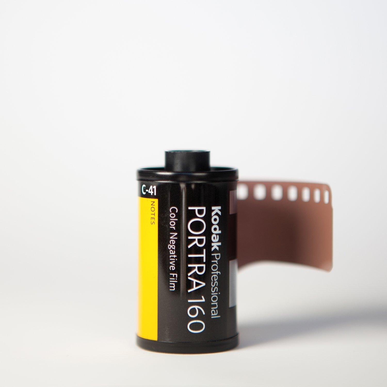 Kodak Portra 160 35mm 36 Exp - SINGLE ROLL ($7.75/roll)