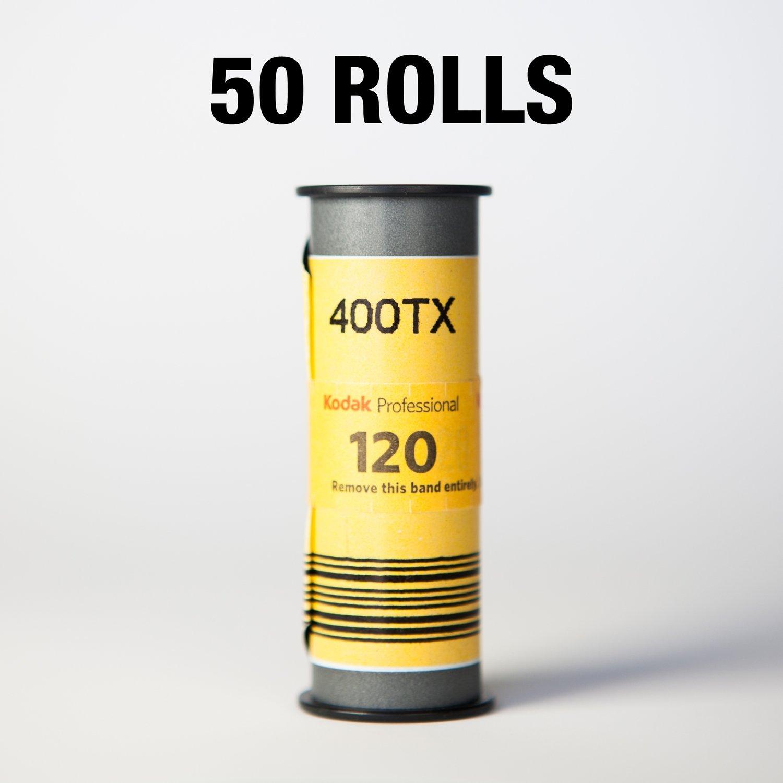 Kodak Tri-X 400 Black & White Film 120- 50 ROLLS ($5.98/roll)