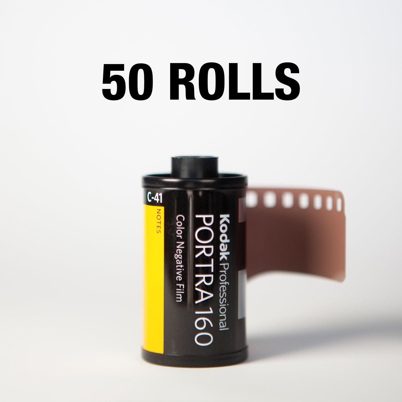 Kodak Portra 160 35mm 36 Exp - 50 ROLLS ($6.75/roll)
